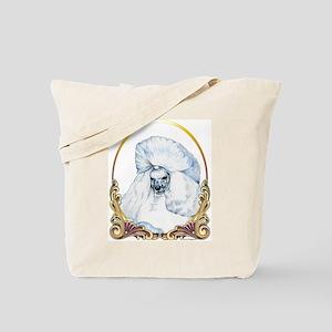 Poodle Christmas/Holiday Tote Bag