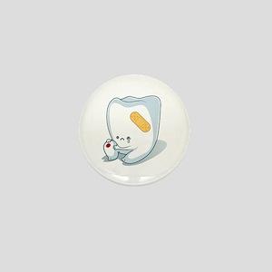 Tooth-Hurty - White Text Mini Button