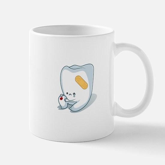 Tooth-Hurty - White Text Small Mug