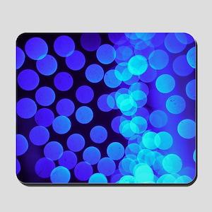 blue dots ii Mousepad