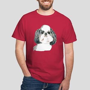 Puppy Cut Shih Tzu Dark Colored T-Shirt