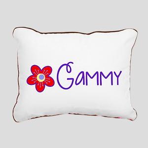 My Fun Gammy Rectangular Canvas Pillow