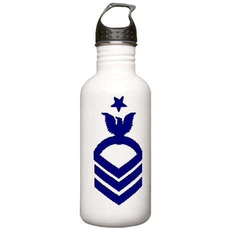 NavySCPOCrowWhites Stainless Water Bottle 1.0L