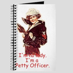 NavyImNoLadyPO1Poster Journal