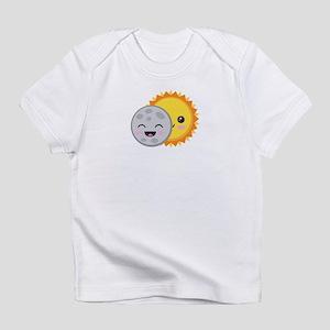 Cute Kawaii 2017 Solar Eclipse Cartoon T-Shirt