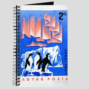 1965 Hungary Aurora Borealis Penguins Stamp Journa