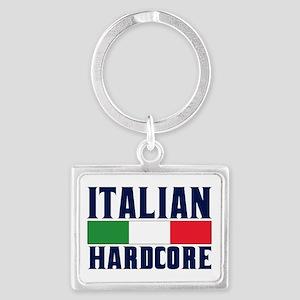Italian Hardcore Landscape Keychain