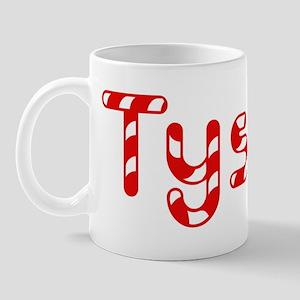 Tyson - Candy Cane Mug