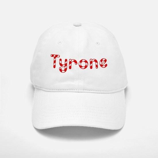 Tyrone - Candy Cane Baseball Baseball Cap