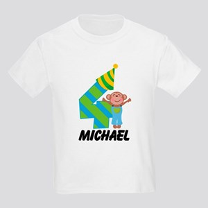 4th Birthday Personalized Boys T-Shirt
