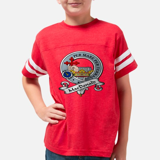 MacDonald Clan MacDonald Youth Football Shirt