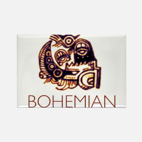 Bohemian Rectangle Magnet (100 pack)