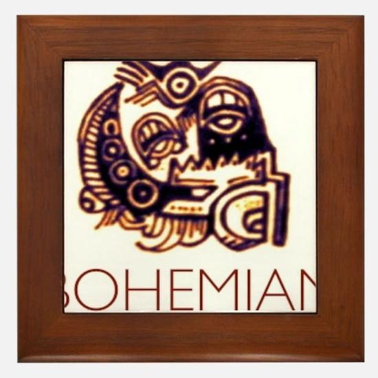Bohemian Framed Tile