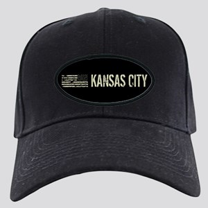 Black Flag: Kansas City Black Cap with Patch