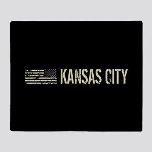 Black Flag: Kansas City Throw Blanket