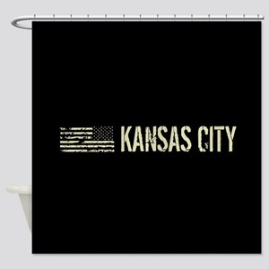 Black Flag: Kansas City Shower Curtain
