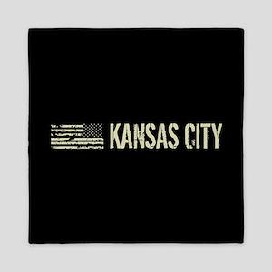 Black Flag: Kansas City Queen Duvet