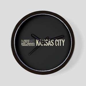 Black Flag: Kansas City Wall Clock