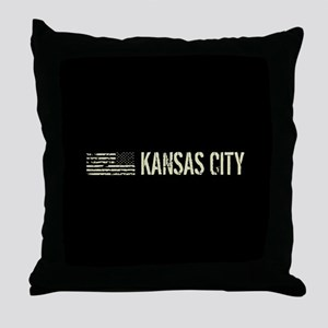 Black Flag: Kansas City Throw Pillow