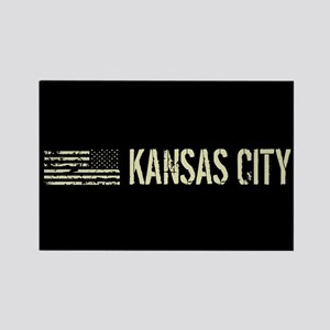Black Flag: Kansas City Rectangle Magnet