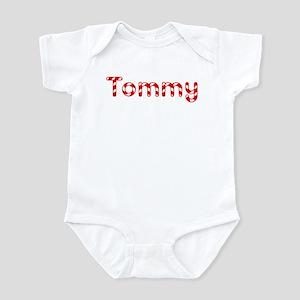 Tommy - Candy Cane Infant Bodysuit