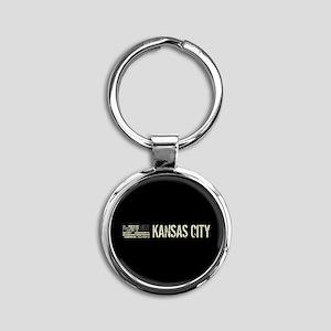 Black Flag: Kansas City Round Keychain