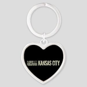 Black Flag: Kansas City Heart Keychain