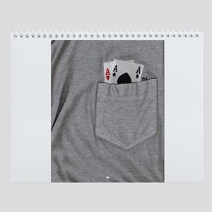 Pocket Aces Wall Calendar