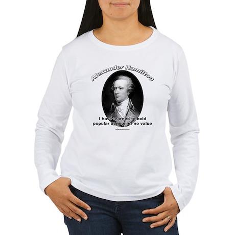 Alexander Hamilton 03 Women's Long Sleeve T-Shirt