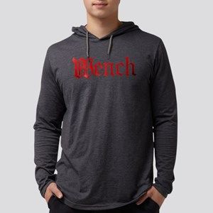bl_wench Mens Hooded Shirt