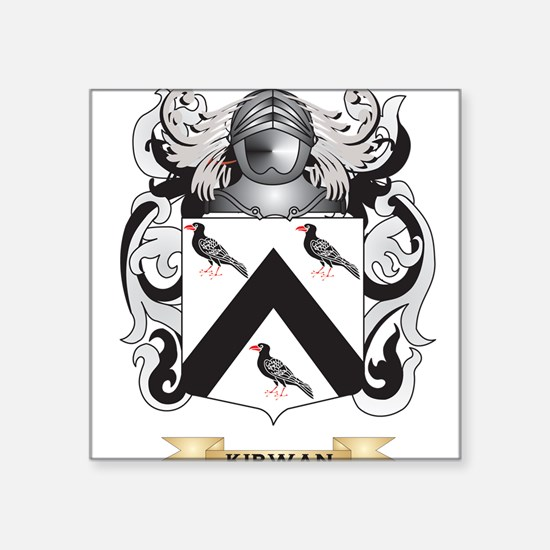 Kirwan Coat of Arms (Family Crest) Sticker