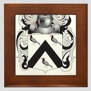 Kirwan Coat of Arms (Family Crest) Framed Tile