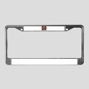 Metaphysical License Plate Frame