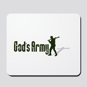Gods Army Mousepad