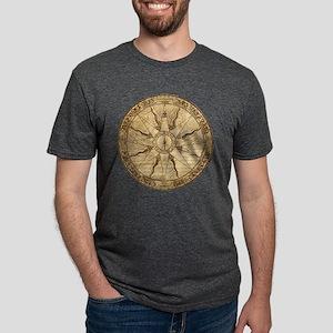 compass_tr Mens Tri-blend T-Shirt