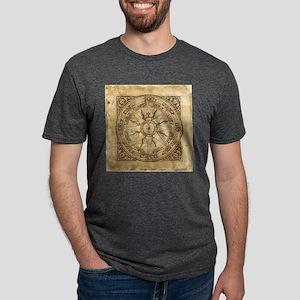 compass-4_tile Mens Tri-blend T-Shirt