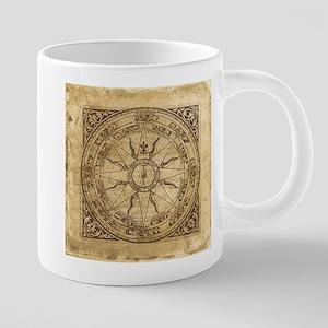 compass-4_tile 20 oz Ceramic Mega Mug