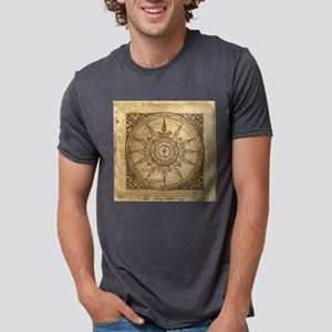 compass-2_tile Mens Tri-blend T-Shirt