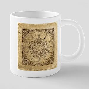 compass-2_tile 20 oz Ceramic Mega Mug