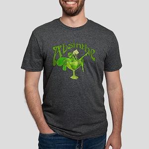 absinthe-glass-new_tr2 Mens Tri-blend T-Shirt