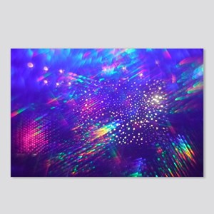 Rainbow Explosion Postcards (Package of 8)