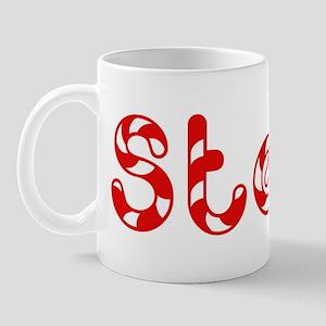 Steve - Candy Cane Mug