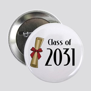 "Class of 2031 Diploma 2.25"" Button"