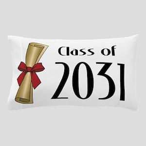 Class of 2031 Diploma Pillow Case