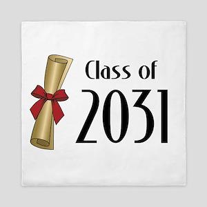 Class of 2031 Diploma Queen Duvet