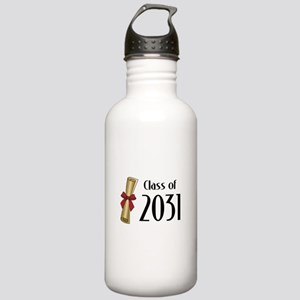 Class of 2031 Diploma Stainless Water Bottle 1.0L