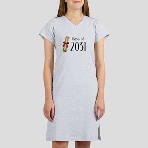 Class of 2031 Diploma Women's Nightshirt