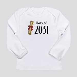 Class of 2031 Diploma Long Sleeve Infant T-Shirt