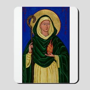 St. Brigid of Kildare Mousepad