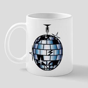 Disco Ball 70s Dance Music Mug